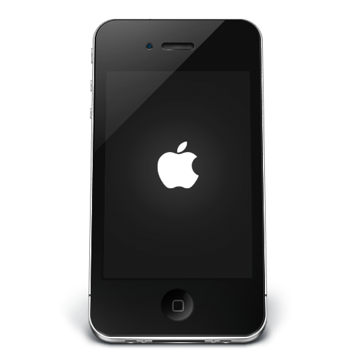 iPhone Black Apple icon