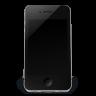 iPhone Black Off Icon   iPhone 4 Iconset   Musett.com