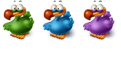 Titto The Dodo Icons