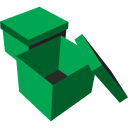 boxes green icon