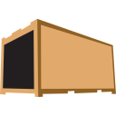 container brown icon
