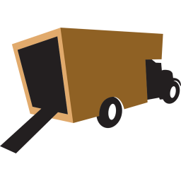 truck brown icon