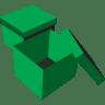 Boxes-green icon