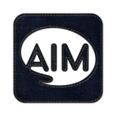 Aim square icon