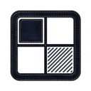 delicious square icon
