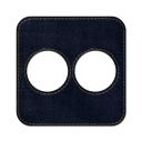 Flickr square icon