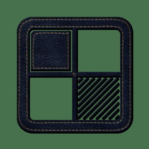 Delicious-square icon