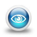 Glossy 3d blue orbs2 096 icon