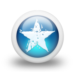 Glossy 3d blue orbs2 034 icon