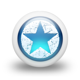 Glossy 3d blue orbs2 035 icon