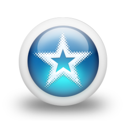 Glossy 3d blue orbs2 036 icon