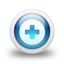 glossy 3d blue orbs2 037 icon