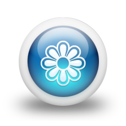 glossy 3d blue orbs2 061 icon
