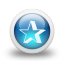 Glossy-3d-blue-orbs2-039 icon