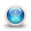 Glossy-3d-blue-web icon