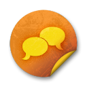 Orange-sticker-badges-041 icon
