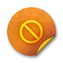 Orange-sticker-badges-055 icon