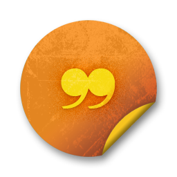 orange sticker badges 091 icon