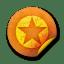 Orange-sticker-badges-036 icon