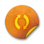 Orange-sticker-badges-054 icon