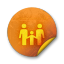 Orange-sticker-badges-068 icon