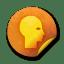 Orange-sticker-badges-087 icon