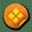 Orange-sticker-badges-089 icon