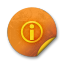 Orange-sticker-badges-176 icon