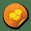 Orange sticker badges 212 icon