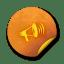 orange sticker badges 213 icon