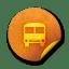 Orange-sticker-badges-215 icon
