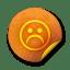 Orange-sticker-badges-279 icon