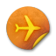 Orange-sticker-badges-291 icon
