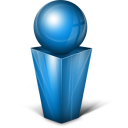Messenger blue icon
