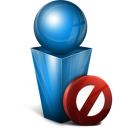 Occupe blue icon