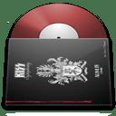 Vinyl kiss icon
