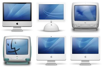 iMac Generations Icons