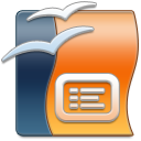 OpenOffice Impress icon