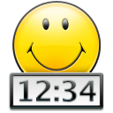 T Clock icon