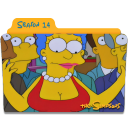 The Simpsons Season 14 icon