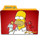 The Simpsons Season 18 icon