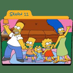 The Simpsons Season 11 icon