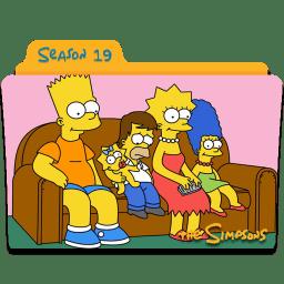 The Simpsons Season 19 icon