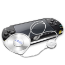 Psp umd headphones icon
