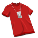 Apple-Store-Tshirt-Red icon