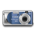 Powershot A430 Blue icon