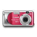 Powershot-A430-Rouge icon