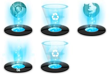 Hologram Icons