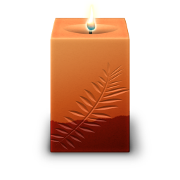 Square Candle icon