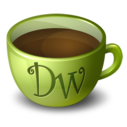 Coffee Dreamweaver icon